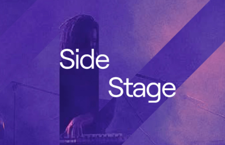 Muso Side Stage promotional graphic.